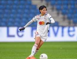 Saki Kumagai a marqué le but de la victoire de Lyon contre la Juventus en Ligue des champions.