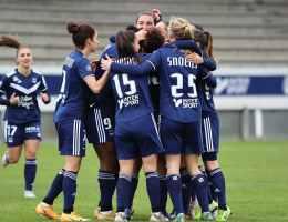 Parmi les chiffres de cette 13e journée de D1 Arkema, la victoire (7-1) acquise par les Bordelaises samedi à Reims est la plus large de leur histoire. C'est même le troisième succès le plus important depuis que le club a fusionné avec Blanquefort en 2015.