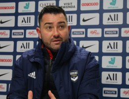Interrogé en conférence de presse vendredi, l'entraîneur de Bordeaux, Pedro Martinez Losa, a annoncé vouloir prendre un jour les rennes de l'équipe de France