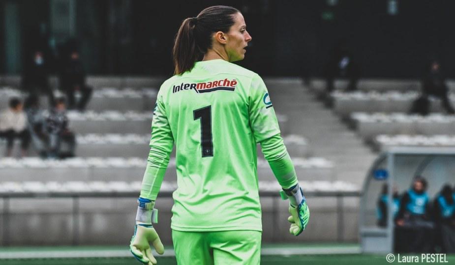Laëtitia Philippe lors du match de Coupe de France entre Issy et Montpellier, 31 janvier 2021. ©Laura Pestel