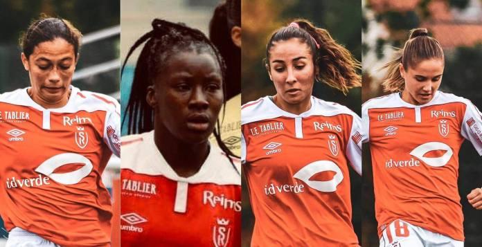 Les 4 Rémoises appelées en U23. Photos : Laura Pestel et Anne-Sophie Lecouflet