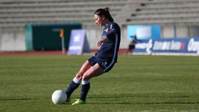 Tout comme Fleury et Bordeaux, le PFC s'est imposé en D1 féminine grâce notamment à un but de Gaëtane Thiney