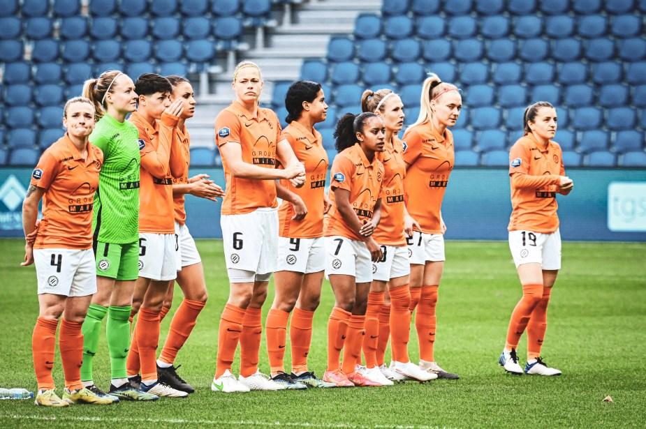 Avant la rencontre chez la lanterne rouge, Montpellier restait sur une série de 6 matchs sans victoire. Le club héraultais, 5e du classement, se retrouvait même distancé en nombre de points après la victoire surprise du Paris FC à Bordeaux. ©Laura Pestel