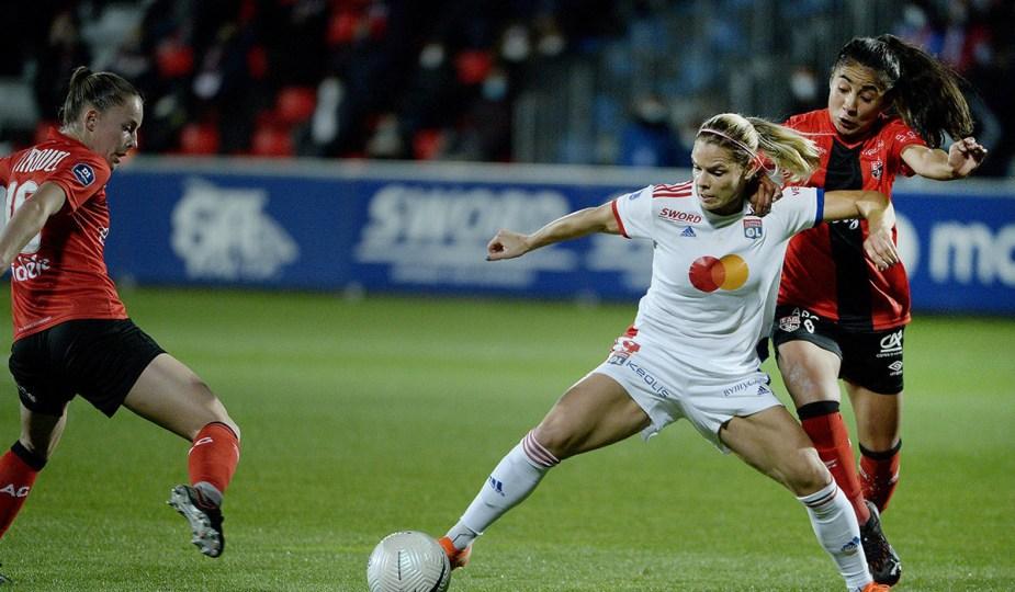 Le match entre Guingamp et l'OL est reporté en D1 féminine