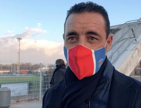 Olivier Echouafni en ITW après la victoire du PSG contre le Sparta Prague mardi 9 mars