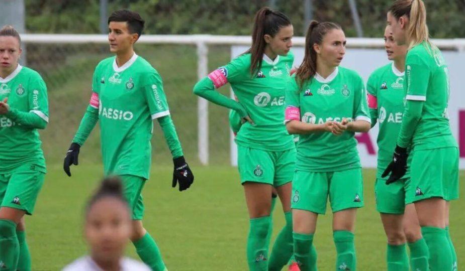 Pas de reprise pour Saint-Étienne et tous les clubs de D2 féminine à cause de la pandémie de Coronavirus.