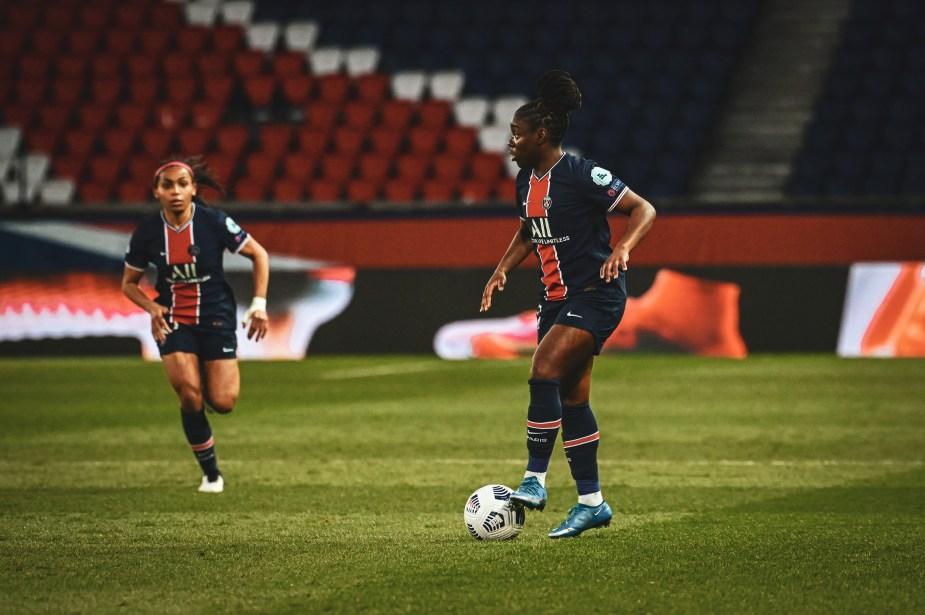 Les photos de PSG-Lyon avec Laura Pestel.