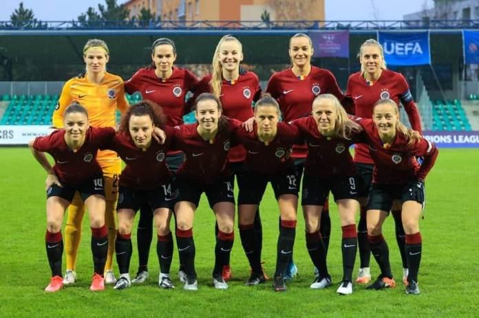 Le Sparta Prague affrontera le PSG en huitièmes de finale de la Ligue des championnes.
