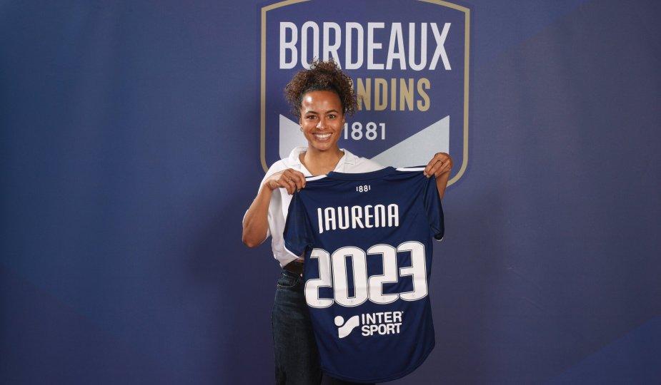 Inès Jaurena rempile avec Bordeaux jusqu'en 2023