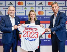 La nouvelle entraîneure de l'OL Sonia Bompastor