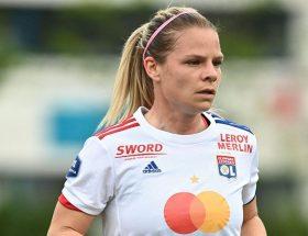 Eugénie Le Sommer est sortie sur blessure contre Bordeaux