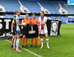 Les joueuses du Havre et du PSG ont rendu un bel hommage à Christophe Revault