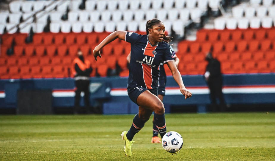 Kadidiatou Diani au PSG