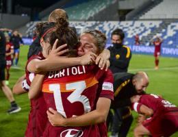 La Roma décroche la Coupe d'Italie.