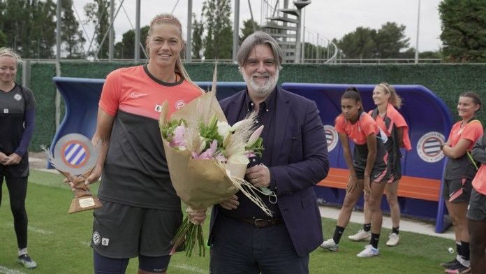 Anouk Dekker quitte Montpellier après six saisons au club