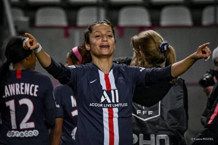 Nadia Nadim annonce son départ du PSG
