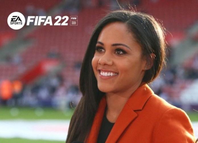 Alex Scott, première voix féminine dans FIFA