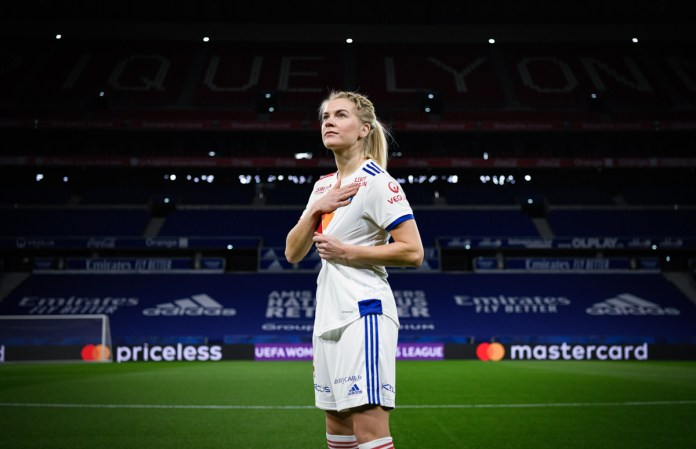 Ada Hegerberg de retour à l'OL
