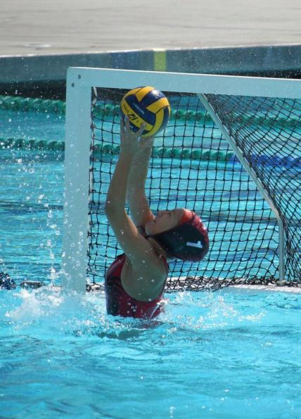Sophomore Taylor Wreesman prevents Hillcrest from scoring during the game, which ended in the Dragons' loss. Credit: Grace Carey/The Foothill Dragon Press