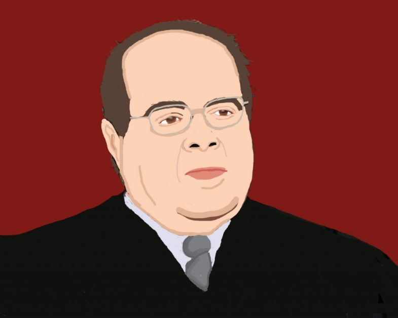 Opinion writer Emma Kolesnik believes that Justice Antonin Scalia deserves our respect. Credit: Jenny Chang/The Foothill Dragon Press