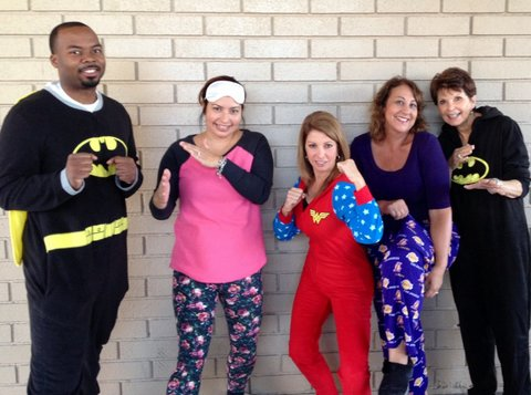 Pajama Day - Counseling Staff