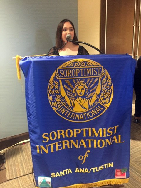 Danielle Bribiesca was selected for Soroptimist Young Woman of Achievement for January.