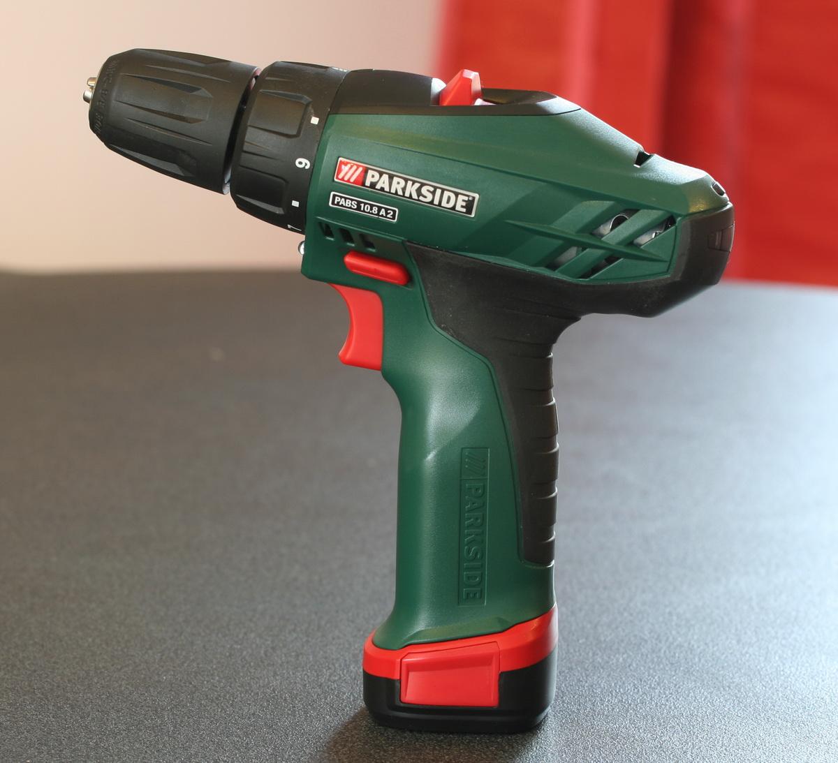 visseuse parkside 10 8 v les outils
