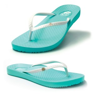 Orhtotic Thongs Aqua