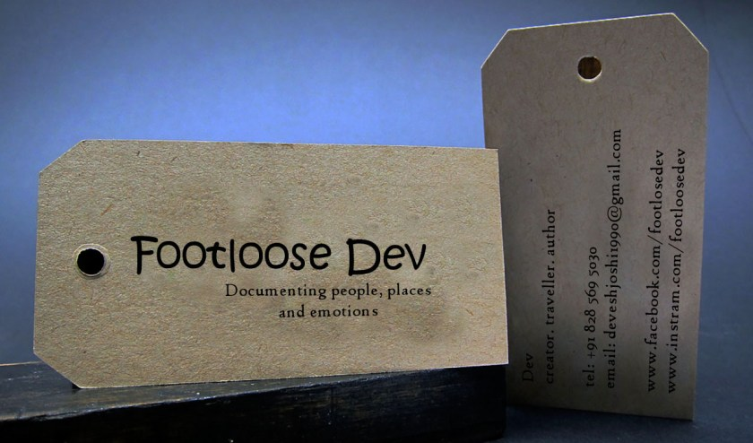 footloosedev visiting card