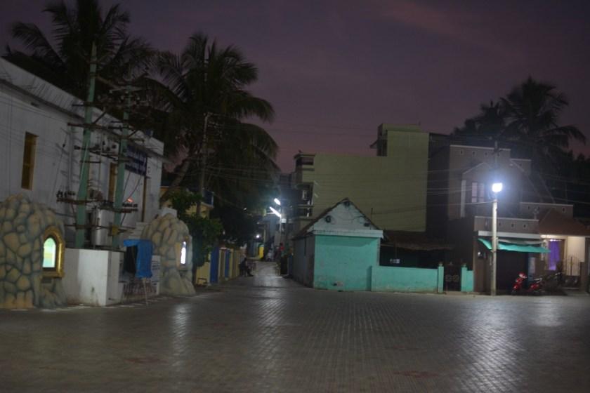 kanyakumari night