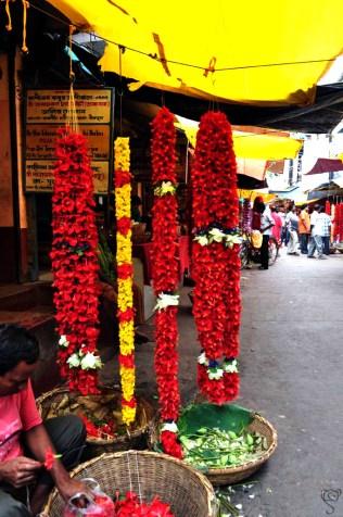 Flower offering for the Goddess
