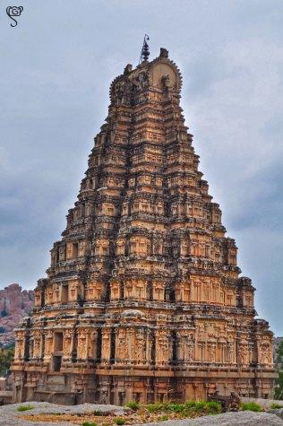 Gopura of Virupaksha Temple