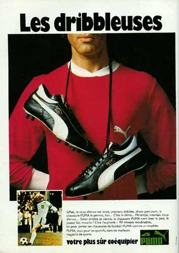 Foot Nostalgie Les Publicits Pour Chaussures