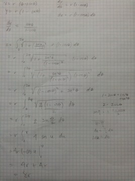 Scratch paper of evaluation of definite integral