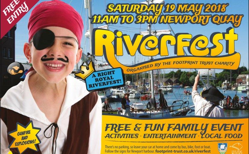 Riverfest: Saturday 19th May 2018