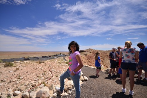 Titir at Meteor Crater