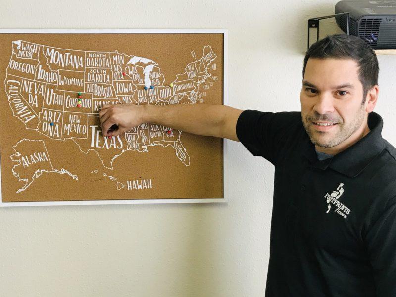Fabio Simoes is Starting a Flooring Business