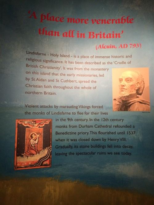 Lindisfarne Museum post
