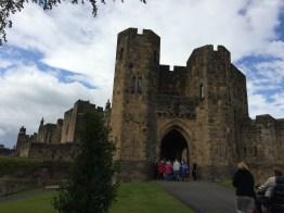 Alnwick Castle front gate