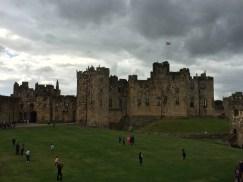 Alnwick Castle courtyard