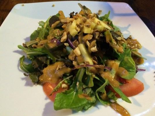 Macadamia nut salad