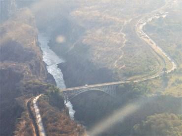 Bridge from Zambia to Zimbabwe