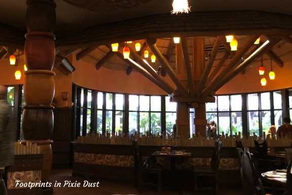 Inside Boma ~ Photo credit: Tina M. Brown