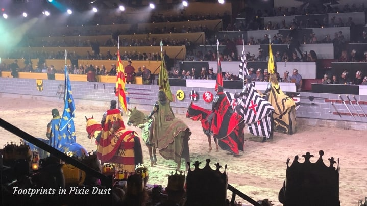 Medieval Times in Orlando - The Six Knights