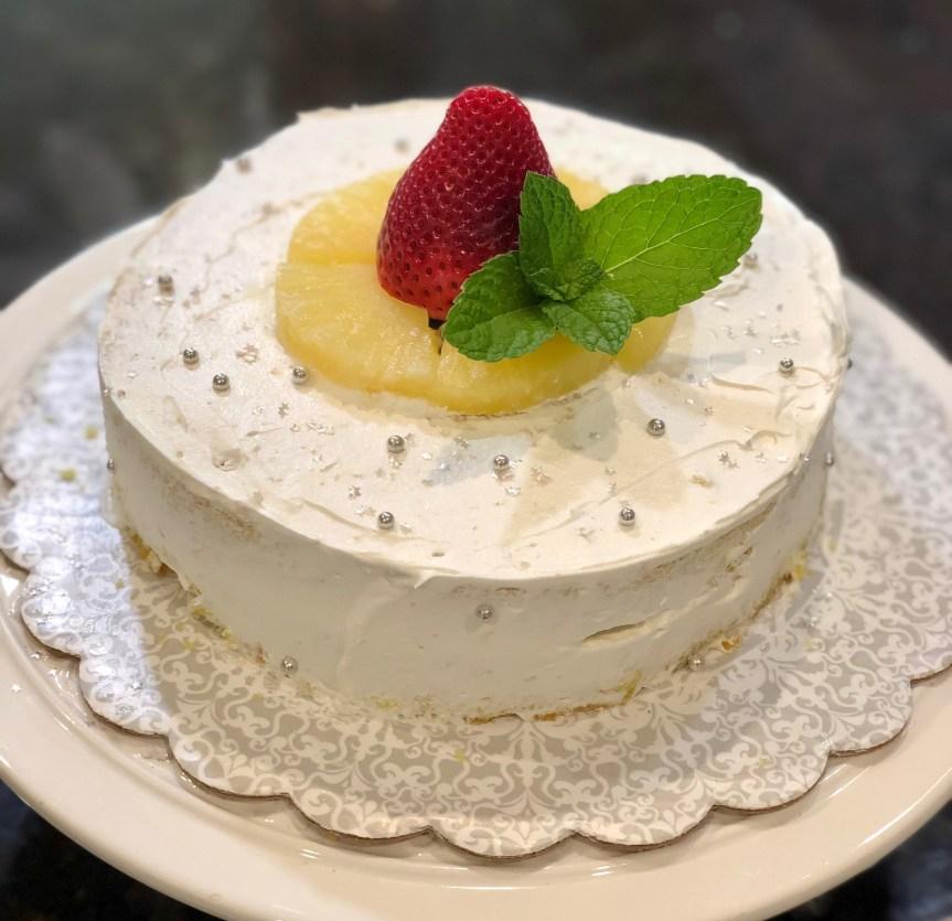 Easy Vanilla Sponge Cake