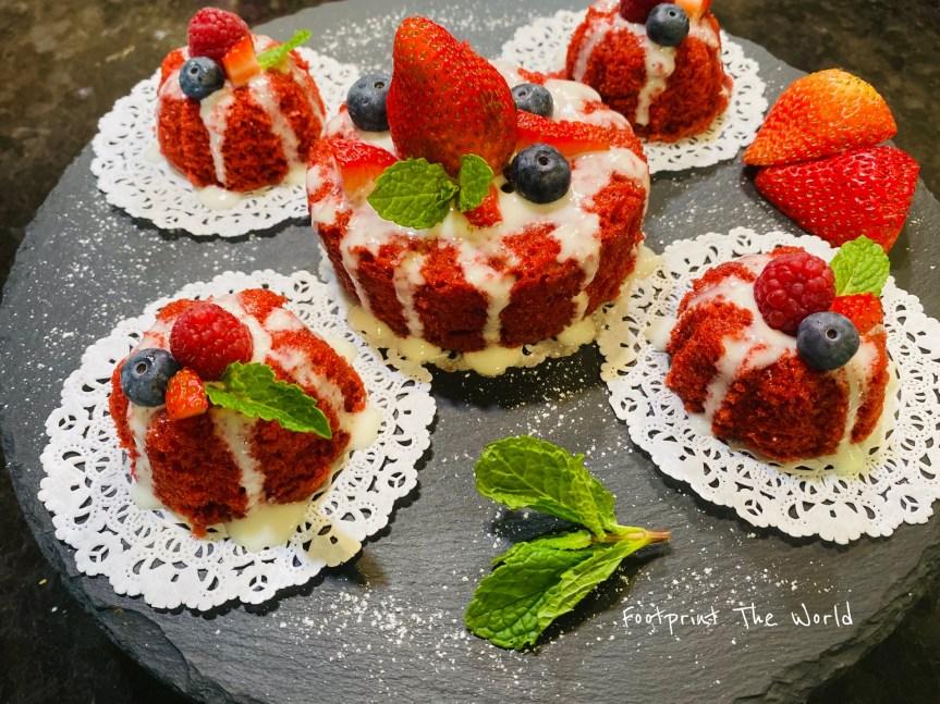 Color Me Red Velvet Cake