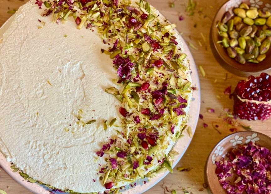 Let's Fall In Love – Persian Love Cake