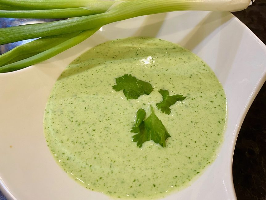Green Me Some Scallion/Cilantro Lime Drizzle