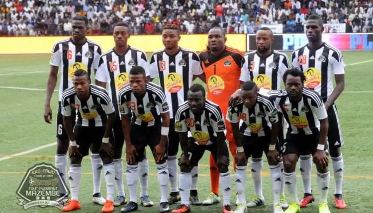 Linafoot Play-off J5: Le Tout puissant écrase l'OC Muungano et rejoint le Daring en tête du classement