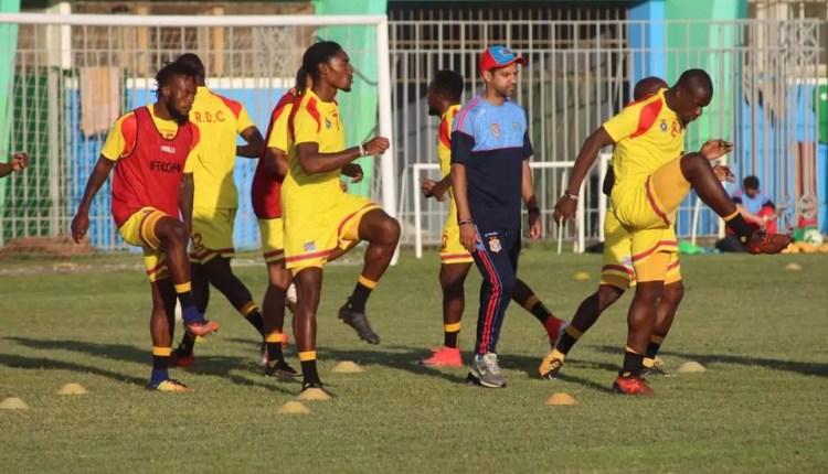 CAN 2019 : Première Séance d'entrainement des Léopards sous une pluie  à Monrovia .
